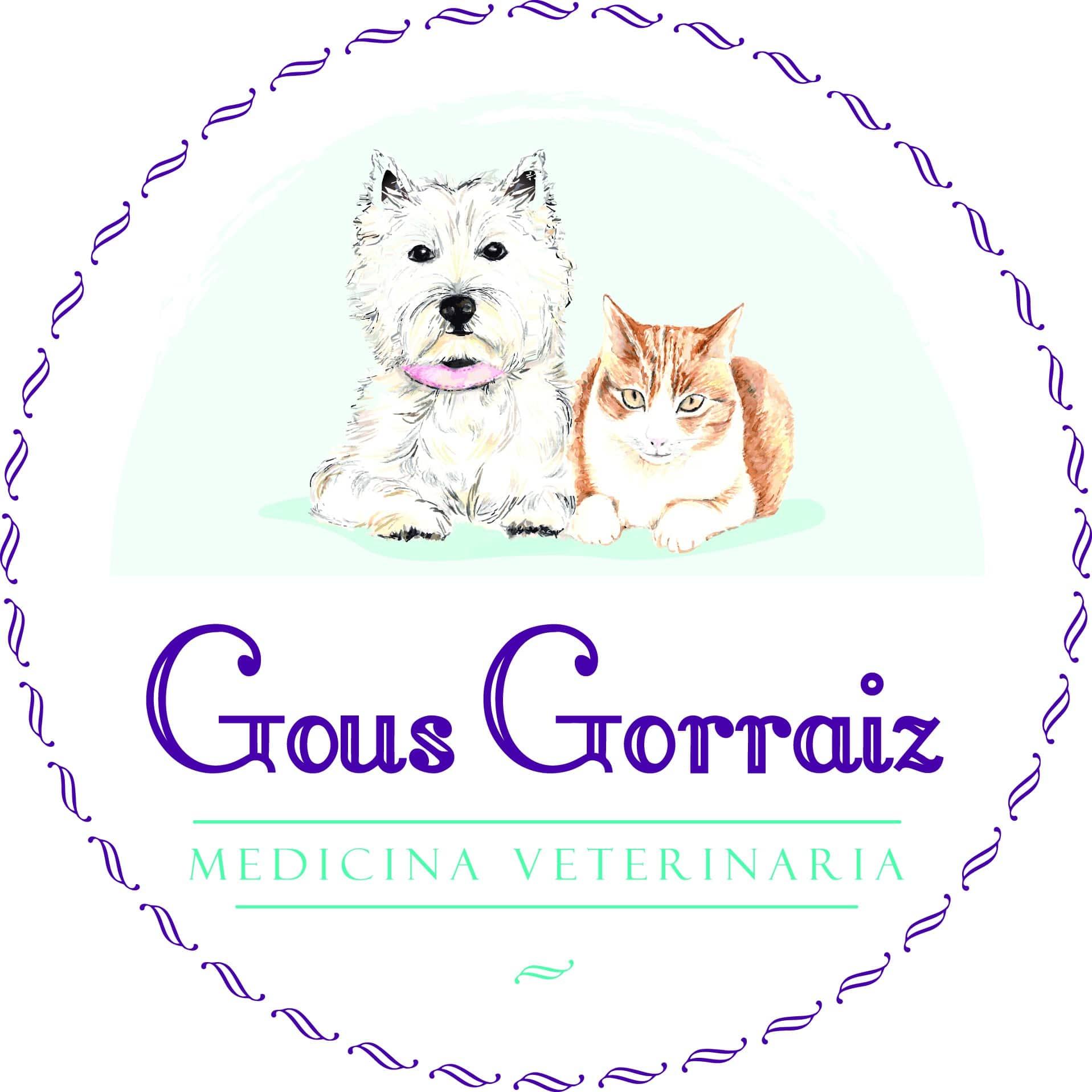 logo clinica veterinaria gous